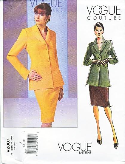 Amazon.com: Vogue Sewing Pattern 2887 Misses Size 18-20-22 Couture ...