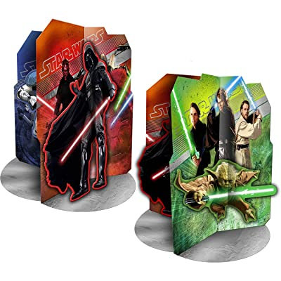 Star Wars Party Decorations - Star Wars Centerpiece: Toys & Games