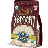 Lundberg Family Farms - Organic California White Basmati Rice, Pleasant Aroma, Fluffy Texture, Won't Clump When Cooked, Bulk