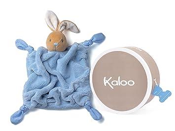 Kaloo Plume Blue Rabbit Doudou
