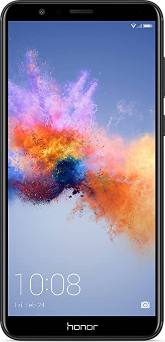 Honor 7X (Black, 4GB RAM + 64GB Memory) Smartphones at amazon