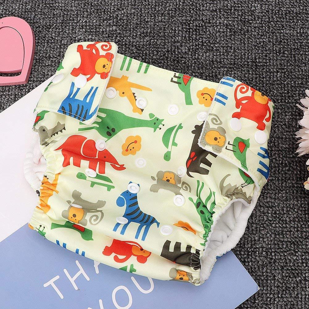 Baby Trainingshose verstellbar auslaufsicher Cartoon Print Cotton Trainingshose Windelunterw/äsche f/ür 0-3 Jahre Kleinkind Baby Kleinkinder Dreieck