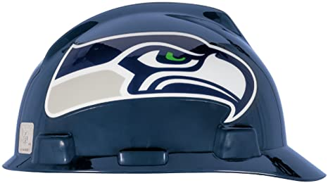 a8bec94b MSA 818410 NFL V-Gard Protective Cap, Seattle Seahawks