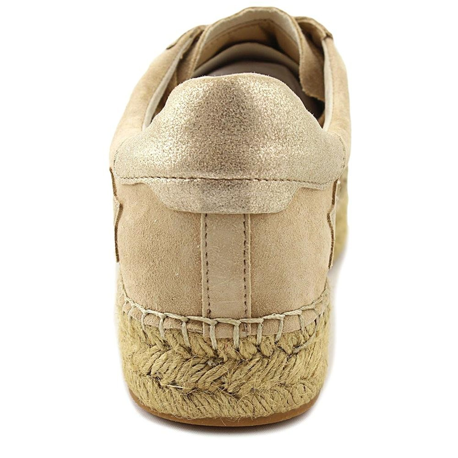 Marc Fisher Womens Marcia Leather Low Top Lace Up, Light Natural, Size 6.0 by Marc Fisher (Image #3)