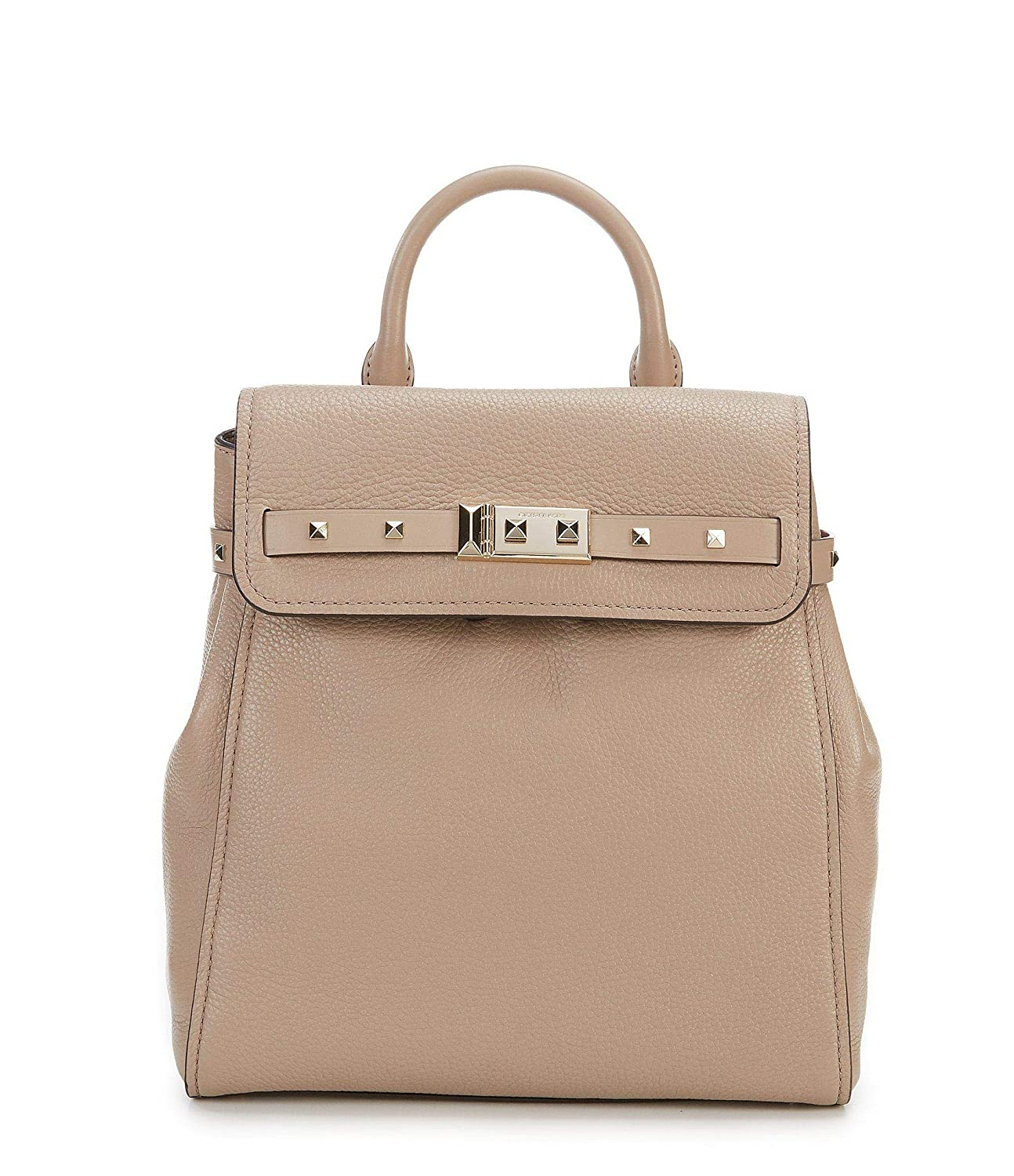 fc15f519483344 Amazon.com: Michael Kors Addison Medium Leather Backpack - Fawn: Shoes