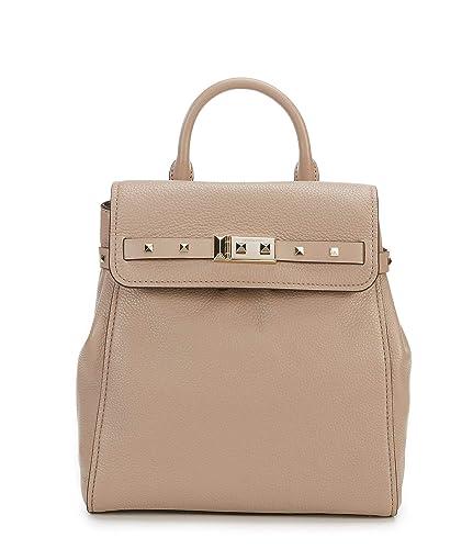 bb4237fad198 Amazon.com: Michael Kors Addison Medium Leather Backpack - Fawn: Shoes