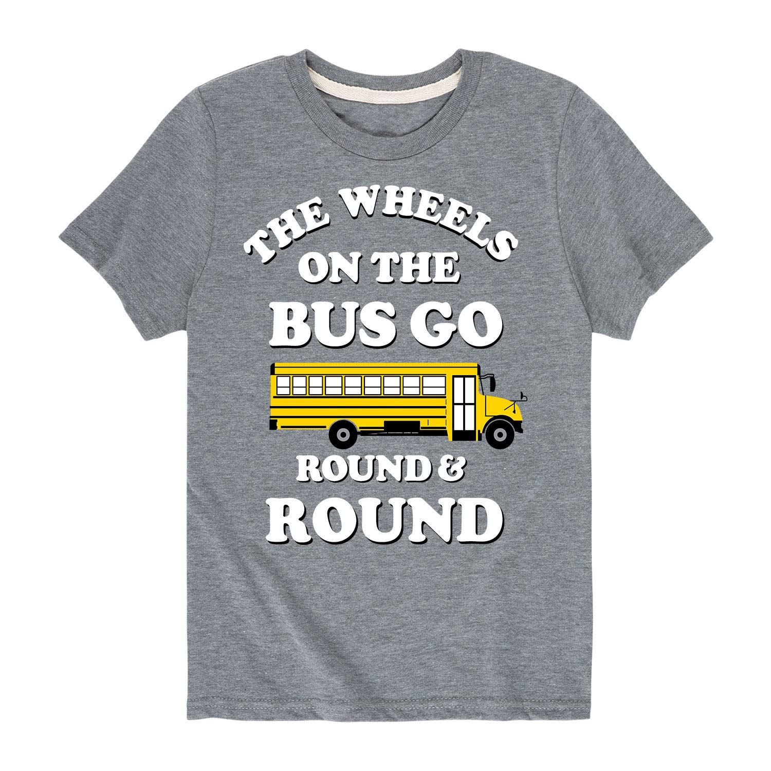 Wheels On The Bus Toddler Short Sleeve Tee
