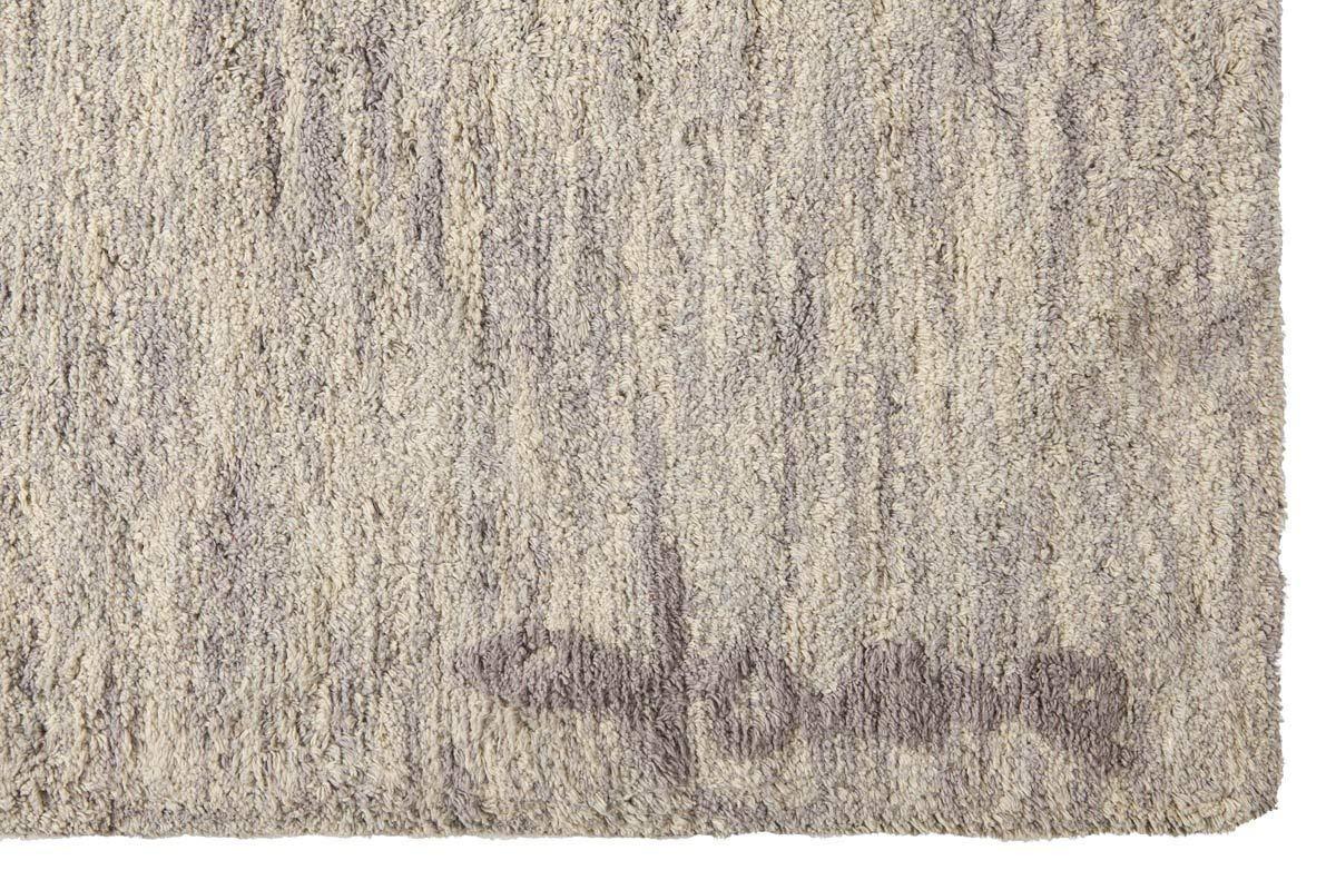 Gris Fonc/é 140x200 cm Lorena Canals Tapis Lavable Mix Ramlal 100/% Coton
