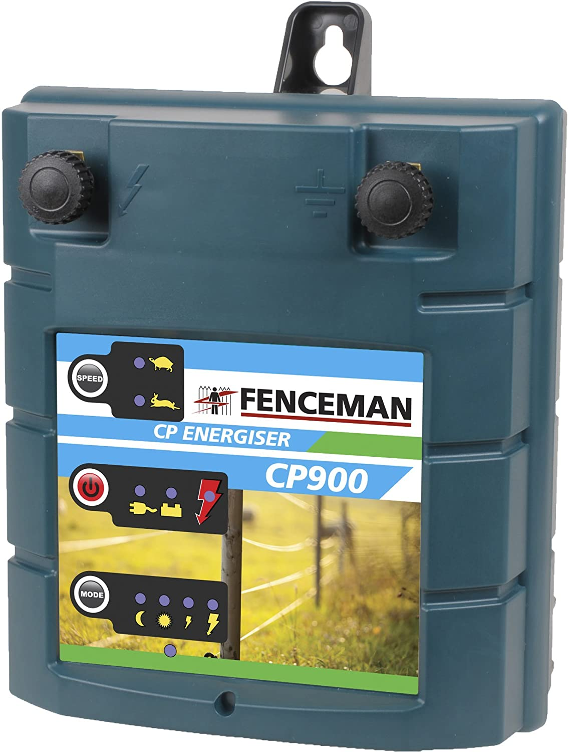 Fenceman Cp900 Electric Fence Battery Energiser Mains Powered Energizers Sports Outdoors