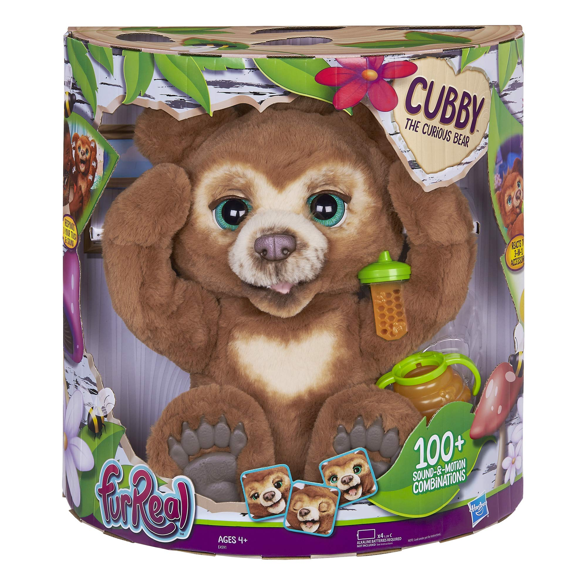 FurReal Cubby, The Curious Bear Interactive Plush Toy, Ages 4 and Up by FurReal (Image #2)