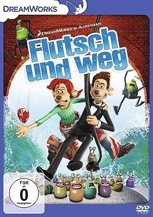 Flutsch Und Weg Amazon Co Uk Dvd Blu Ray