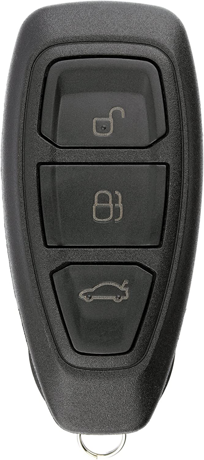 KeylessOption Keyless Entry Remote Control Car Key Fob Clicker for Focus, C-Max, Fiesta KR55WK48801