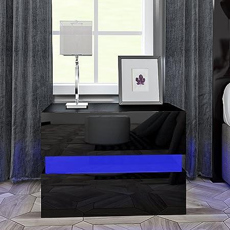 Pandamoto en avec Table de Chevet MDF Moderne Anaelle iPkTuOXZ