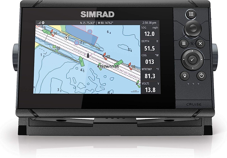 Simrad Cruceros Plotter y mapas costeros de Estados Unidos: Amazon ...