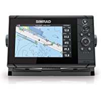 $539 » Simrad Cruise 7-7-inch GPS Chartplotter with 83/200 Transducer, Preloaded C-MAP US…
