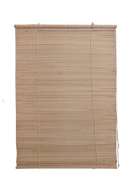 MSR Bamboo Roll Up Blind (Beige, 5 X 3.5 Ft)