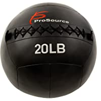 ProsourceFit Soft Medicine Balls for Wall Balls and Full Body Dynamic Exercises, Color-Coded Weights