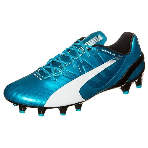 2326598db43cf Puma Evospeed 1.3 FG Football Boots Hawaiian Ocean/White/Black - Size 11