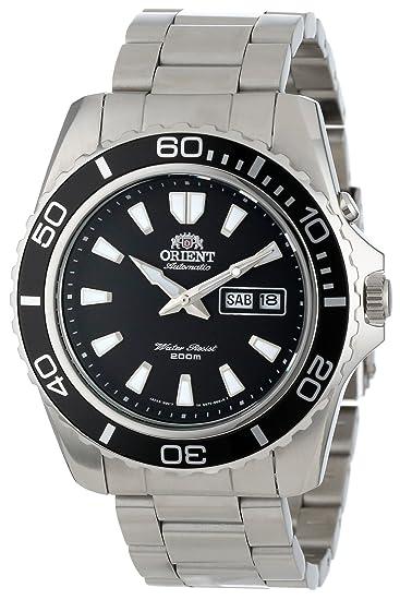 Orient Reloj Analogico para Hombre de Automático con Correa en Acero  Inoxidable FEM75001BW  Amazon.es  Relojes d63355a38746