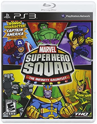 THQ Marvel Super Hero Squad: The Infinity Gauntlet, PS3, ESP PlayStation 3 Español