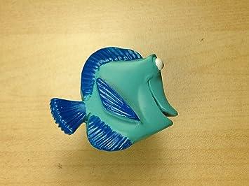 Disney Hardware Nemo Dory Blue Fish Cabinet Knob Furniture Kitchen Kids  Room Knobs Handle