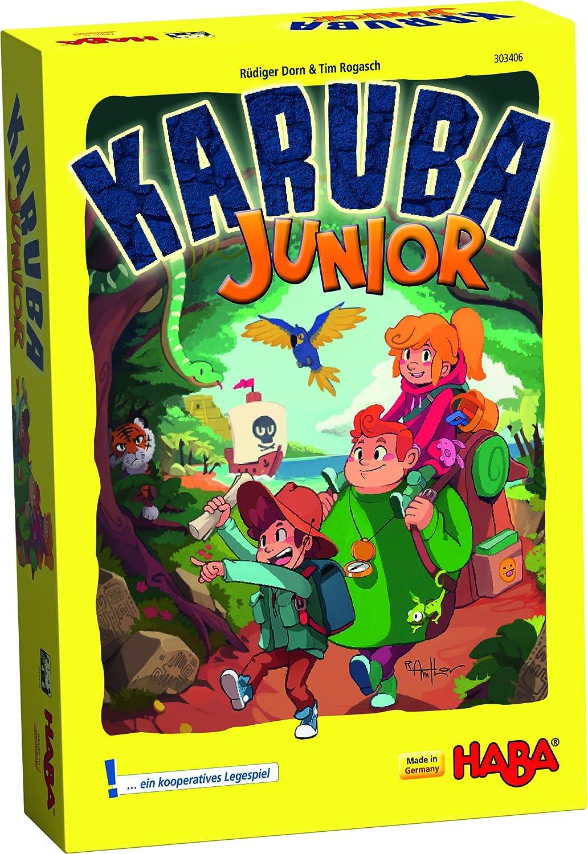 Haba- Karuba Junior - ESP, Multicolor (Habermass 304054): Amazon ...