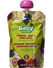 Baby Gourmet Banana Apple Beet Berry, 12 Count