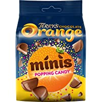 Terry's Chocolate Orange Minis Popping Candy, 140 g