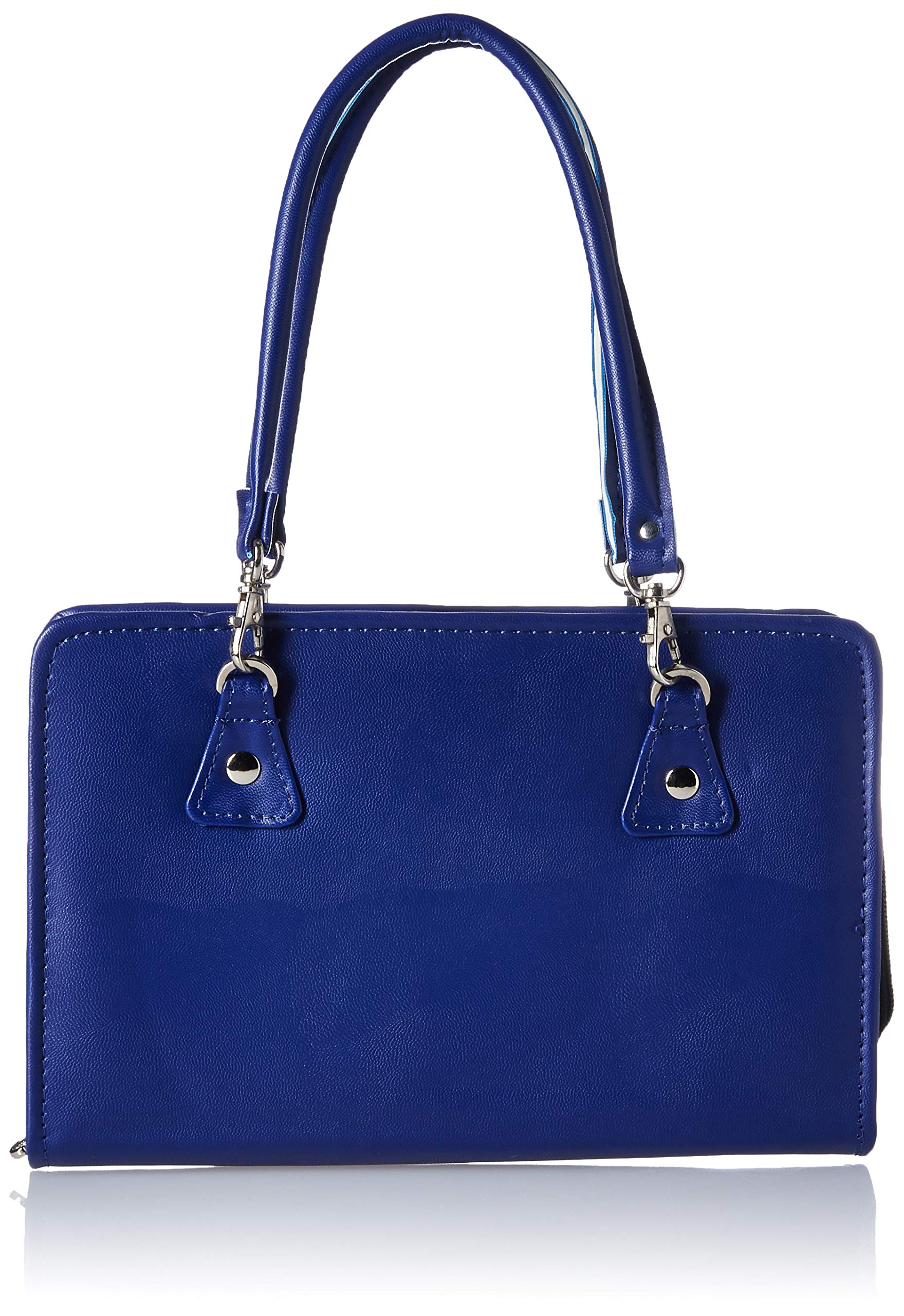 Knitter's Pride Thames Faux Leather Bag, Blue