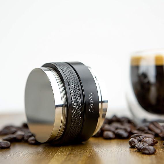 Espresso Dosiertrichter Edelstahl Kaffee Dosierring Kompatibel mit Siebträger DE