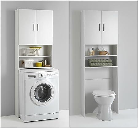 Olbia Mueble de cocina/baño para lavadora, 190 cm, con armario y ...