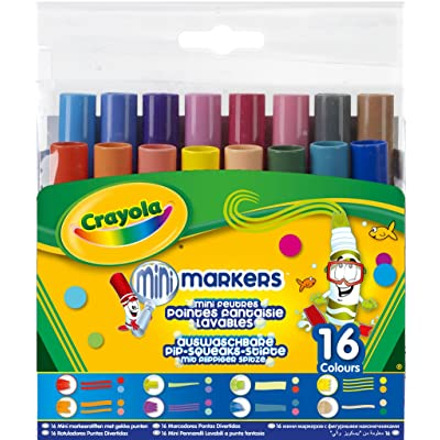 Crayola Pip Squeaks Tiplets Markers, Assorted Colors, 16 Count: Toys & Games