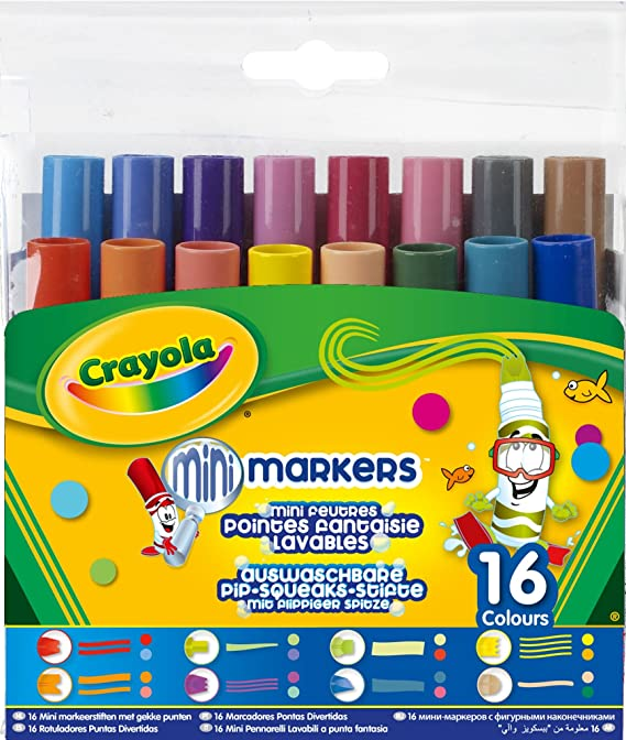 Crayola Pip-Squeaks Washable Markers 58-8704 4 Pack