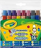 Crayola - 58-8709-E-000 - Loisir Créatif - 16 Feutres Lavables Pointe Fantaisie