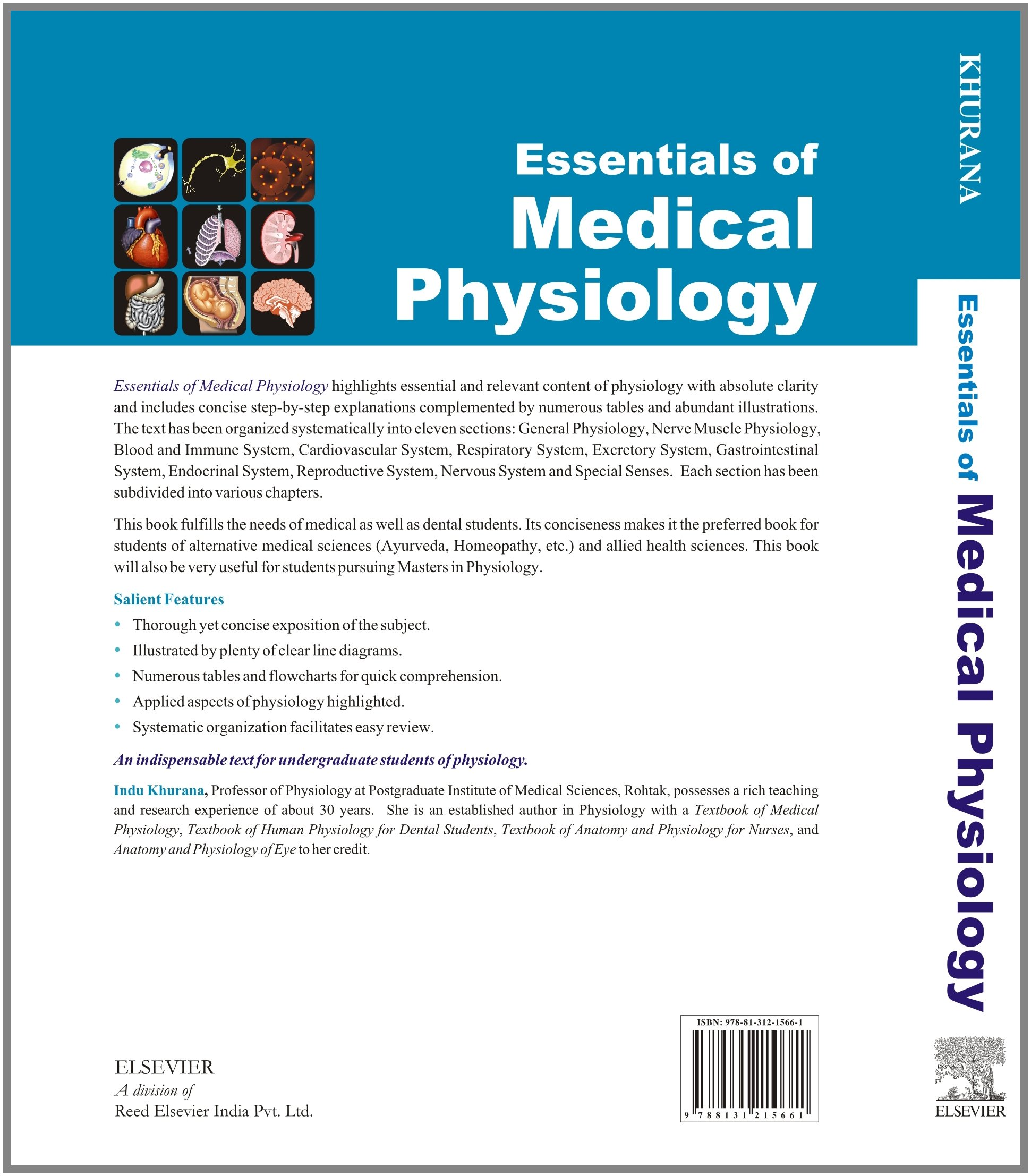Buy Essentials of Medical Physiology (Old Edition) Book Online at ...