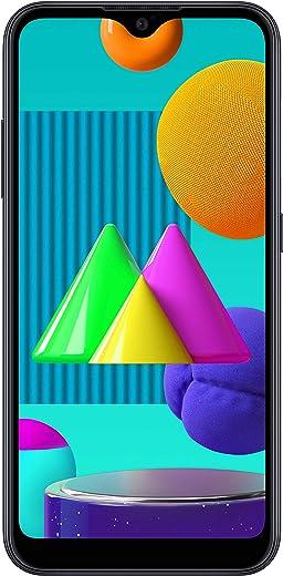 Samsung Galaxy M01 (Black, 3GB RAM, 32GB Storage) with No...