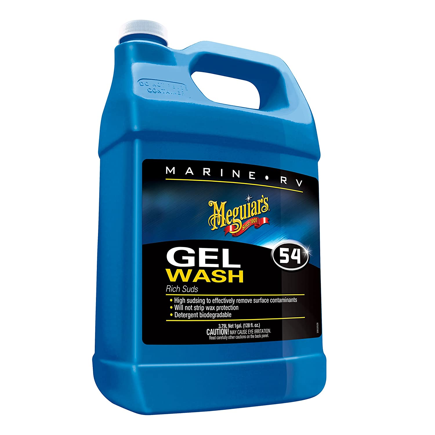 Meguiar's M5401 Marine/RV Gel Wash - 1 Gallon Meguiar' s Meguiar' s M5401 Marine/RV Gel Wash - 1 Gallon