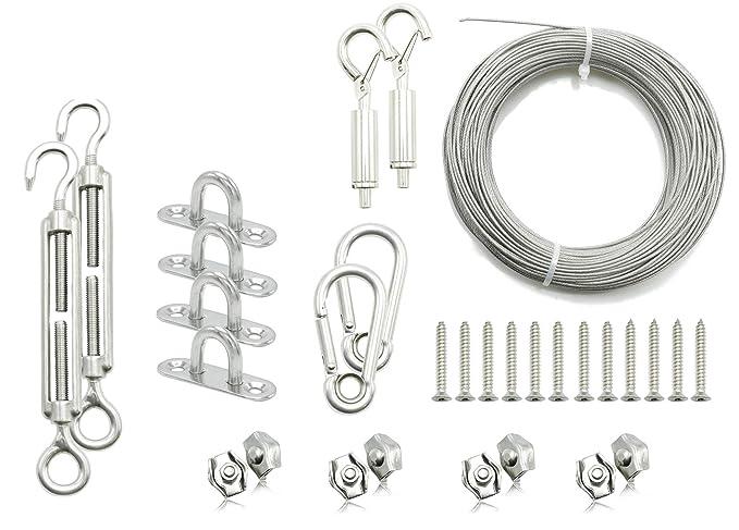 Amazon.com: Kit de suspensión de luces de cuerda, luces de ...