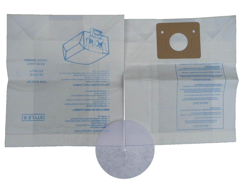 Amazon.com - 150 Eureka B & S Allergy Canister Vacuum Bags + ...