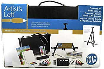 Artists Loft Complete Art Studio Easel Set 4e3dce415e3e5