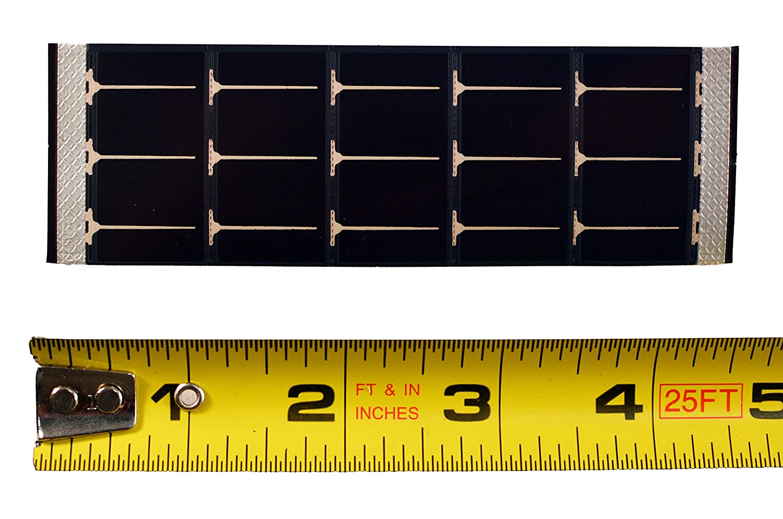 3.0/V bei 50/mA Solarmodul 11,4/cm L x 3,8/x 0,3/cm T 37/Flexible Thin Film POWERFILM MP3