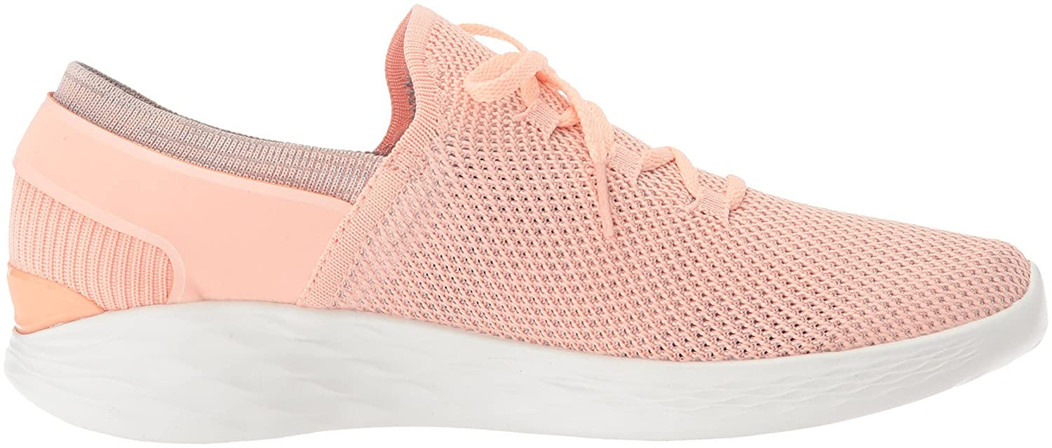 Skechers Women's You-14960 Sneaker B072K7M12J 12 B(M) US|Peach