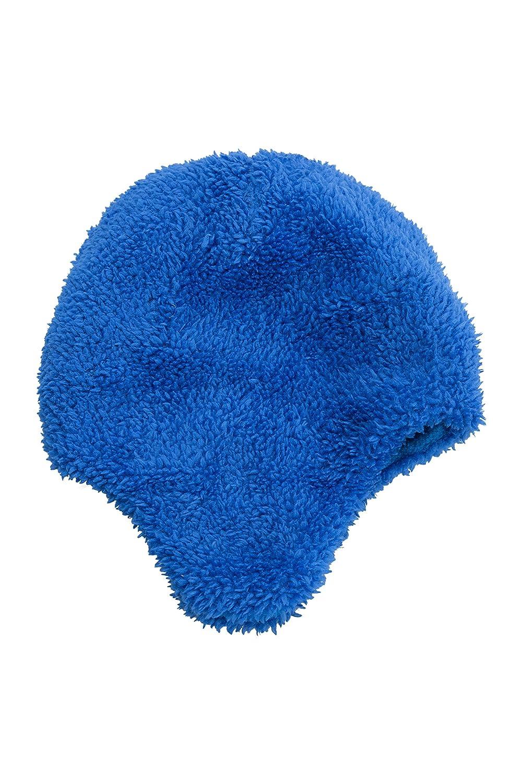 3b1a0ec99730 Mountain Warehouse Bonnet Garçon Hiver Enfant péruvien Junior bébé Animaux  Amusant et Rigolo Dino Bleu Cobalt Agrandir l image