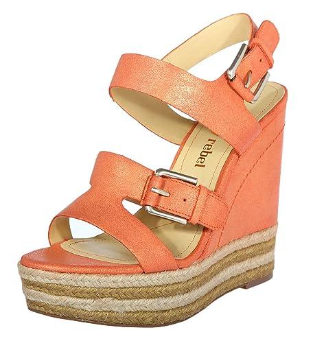 Luxury Rebel Damen Sandalen Orange LR NELLY