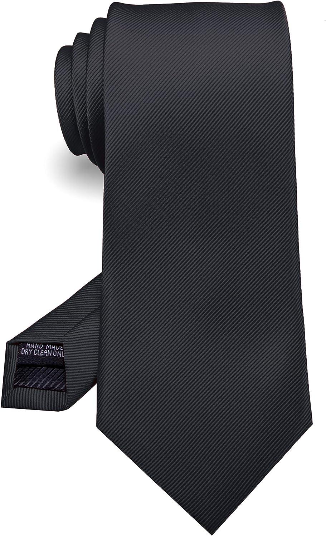 Details about  /RBOCOTT Solid Color Tie Formal Necktie for Men