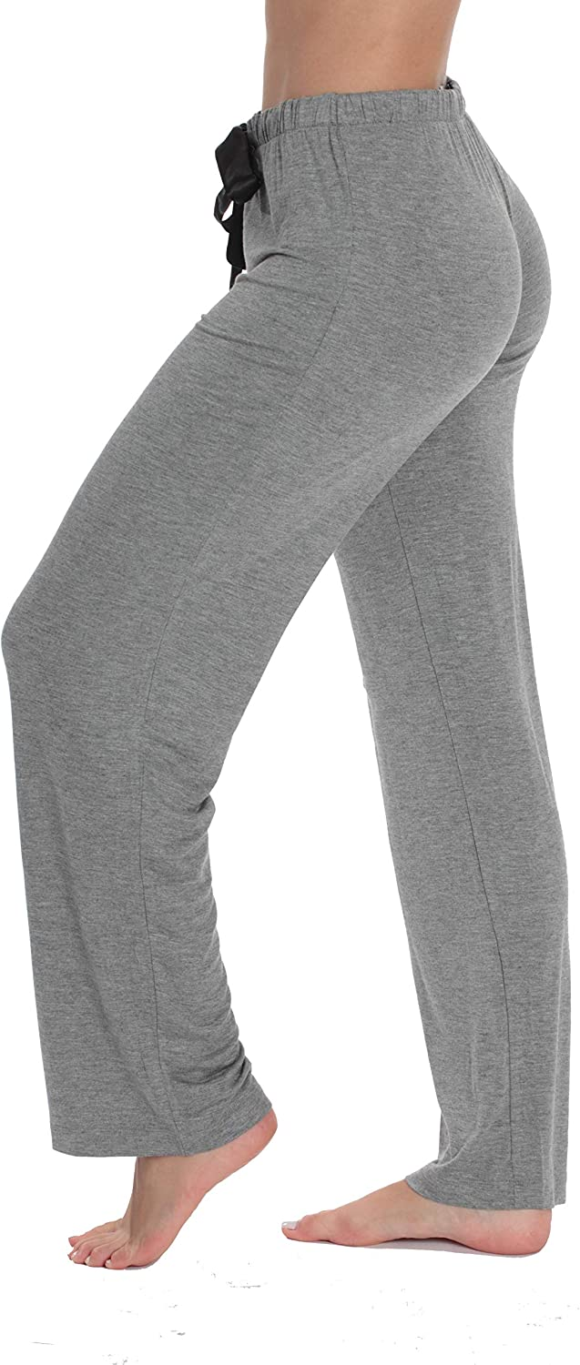 #followme Ultra Soft Solid Stretch Jersey Pajama Pants for Women