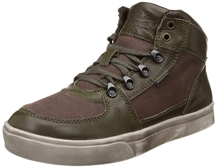 Woodland Men's Leather Boots Men's Boots at amazon