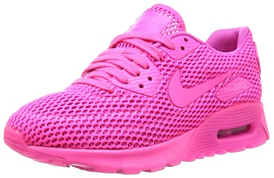 official photos 2116d b1db5 Nike Damen W Air Max 90 Ultra Br Laufschuhe Blast Fire Pink: Amazon ...