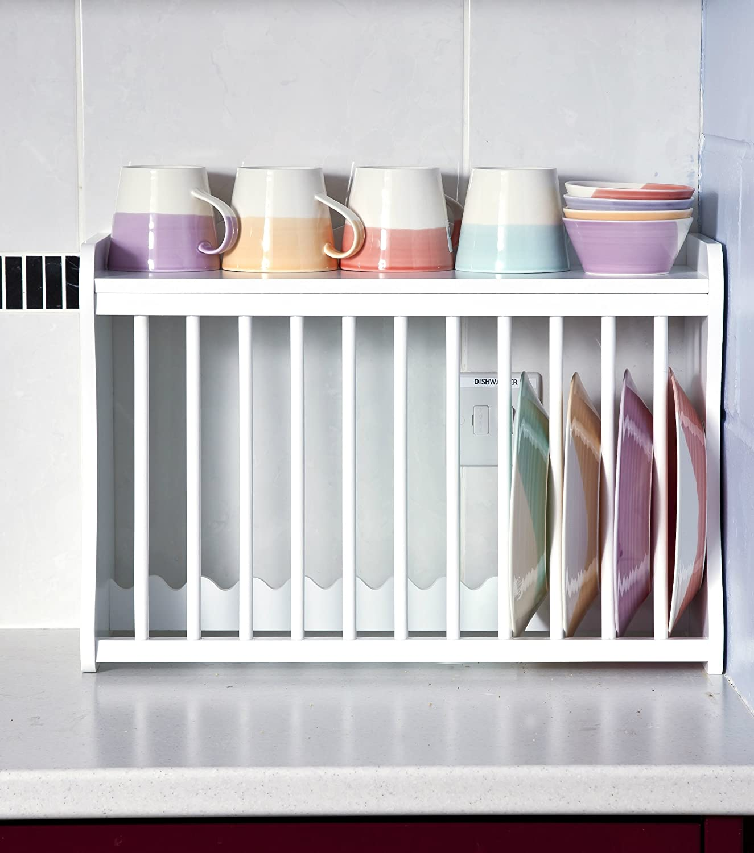 Amazon.de: Elegante Marken LTD Teller Rack, 35, 5 cm H x 54 cm W x ...