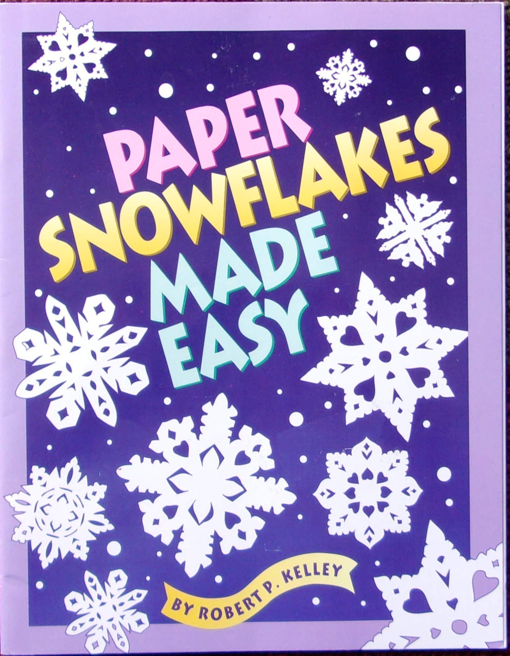 3D Paper Snowflake | Kids' Crafts | Fun Craft Ideas | FirstPalette.com | 2126x1652